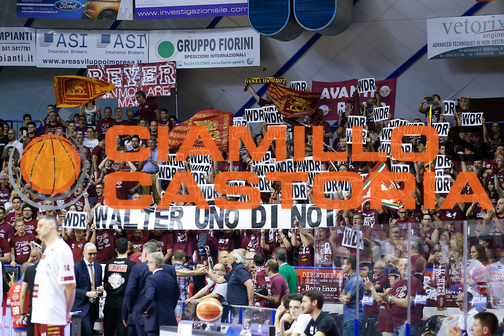 Tifosi Venezia<br /> Umana Reyer Venezia - Dolomiti Energia Aquila Basket Trento<br /> Lega Basket Serie A 2016/17 Finali Gara 01<br /> Venezia, 10/06/2017<br /> Foto Ciamillo-Castoria / M. Brondi