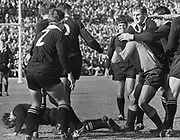 Fight breaks out between the All Blacks and Northern Transvaal at Loftus Versfeld, Pretoria in 1970.<br /> Copyright photo: Wessel Oosthuizen / www.photosport.co.nz