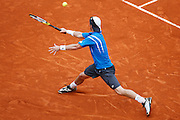 Roland Garros. Paris, France. May 31st 2008..Lleyton HEWITT against David FERRER. .3rd Round...