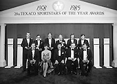 1986 - 28th Texaco Sportstars Awards
