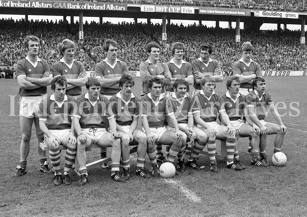 Kerry team that beat Roscommon in the1980 All-Ireland football final at Croke Park September 1982  (Part of Independent Newspapers Ireland/NLI Collection)