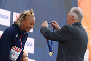 Renelle Lamote (FRA) win the Silver Medal in 800m Women during the European Championships 2018, at Olympic Stadium in Berlin, Germany, Day 5, on August 11, 2018 - Photo Julien Crosnier / KMSP / ProSportsImages / DPPI