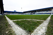 General view inside Loftus Road Stadium before the The FA Cup 3rd round match between Queens Park Rangers and Leeds United at the Loftus Road Stadium, London, England on 6 January 2019.