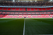 A general view prior to the The FA Cup match between Chelsea and Southampton at Wembley Stadium, London, England on 22 April 2018. Picture by Toyin Oshodi.