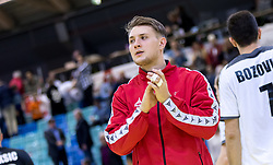 02.11.2016, Arena Nova, Wiener Neustadt, AUT, EHF, Handball EM Qualifikation, Österreich vs Finnland, Gruppe 3, im Bild Christoph Neuhold (AUT)// during the EHF Handball European Championship 2018, Group 3, Qualifier Match between Austria and Finland at the Arena Nova, Wiener Neustadt, Austria on 2016/11/02. EXPA Pictures © 2016, PhotoCredit: EXPA/ Sebastian Pucher