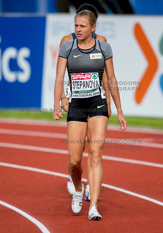 06-07-2016 NED: European Athletics Championships, Amsterdam<br /> Yuliya Stepanova EAA (RUS)