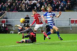 Matty Taylor of Bristol City - Mandatory by-line: Dougie Allward/JMP - 26/12/2017 - FOOTBALL - Ashton Gate Stadium - Bristol, England - Bristol City v Reading - Sky Bet Championship