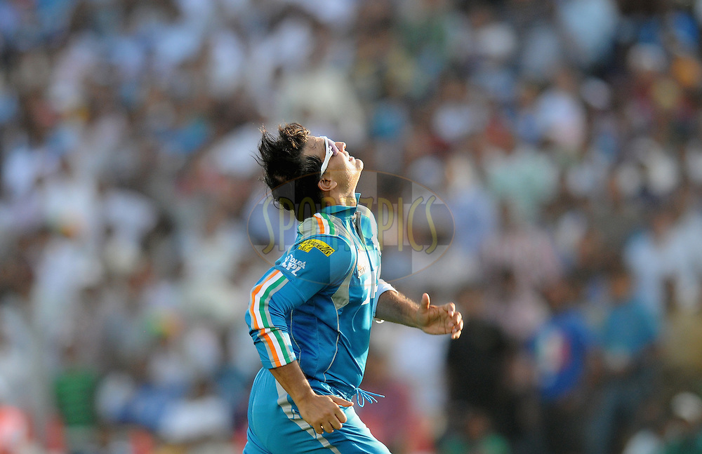 Souvrav Ganguly captain of Pune Warriors India chases a ball during match 31 of the Indian Premier League ( IPL) 2012  between The Pune Warriors India and the Delhi Daredevils held at the Subrata Roy Sahara Stadium, Pune on the 24th April 2012..Photo by Pal Pillai/IPL/SPORTZPICS