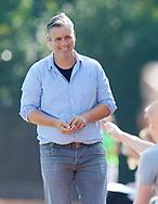 GRONINGEN - Hoofdklasse dames.<br /> Groningen v HDM<br /> Foto: Marc Materek Head Coach.<br /> WORLDSPORTPICS COPYRIGHT FRANK UIJLENBROEK