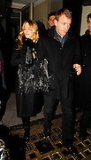 25.JANUARY.2007. LONDON<br /> <br /> MADONNA AND HUSBAND GUY RITCHIE LEAVING NOBU RESTAURANT, BERKLEY SQUARE.<br /> <br /> BYLINE: EDBIMAGEARCHIVE.CO.UK<br /> <br /> *THIS IMAGE IS STRICTLY FOR UK NEWSPAPERS AND MAGAZINES ONLY*<br /> *FOR WORLD WIDE SALES AND WEB USE PLEASE CONTACT EDBIMAGEARCHIVE - 0208 954 5968*