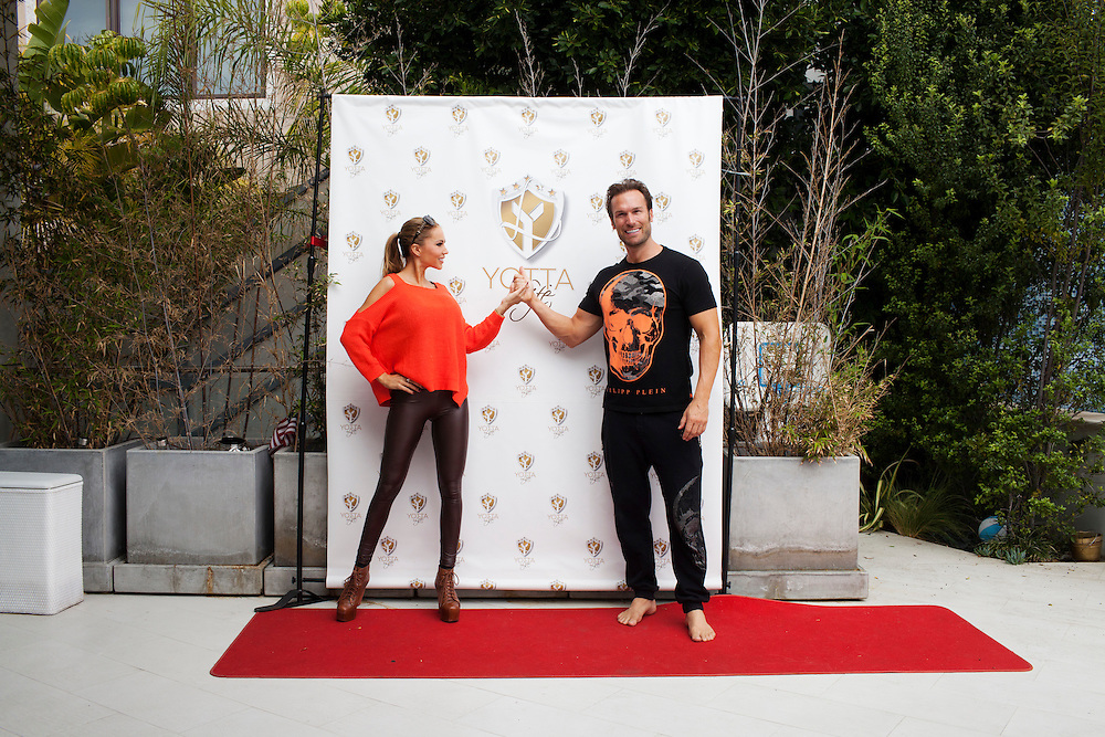 Bastian Yotta and his wife Maria Yotta live what they call the &quot;Yotta Life&quot; in LA. Here in their home in Hollywood Hills, close to Hollywood Reservoir. Los Angeles California, USA.<br /> <br /> Photo by Knut Egil Wang/VG/MOMENT/INSTITUTE