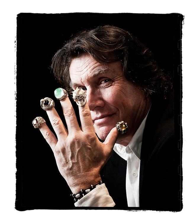 Theo Fennell, jewellery designer.