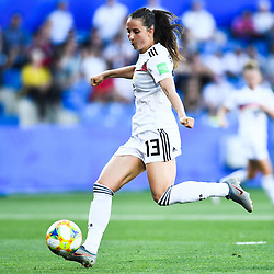 Sara Daebritz of Germany during the Women's World Cup match between Germany and South Africa at Stade de la Mosson on June 17, 2019 in Montpellier, France. (Photo by Alexandre Dimou/Icon Sport)