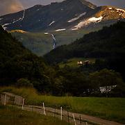 Mountainlandscape from Møre og Romsdal.