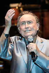File Photo: Manolo Escobar Dies. <br /> Spanish famous singer and actor Manolo Escobar(Que Viva Espana song ) died on Wednesday at 82 years old by colon cancer in his home porronponpon  in Alicante , Spain on October 24, 2013. in the image in one of the last shows in 2011 in Alcala de Henares during the Sant Bartolomew Fair, Spain. Friday, 25th October 2013. Picture by DyD Fotografos / i-Images<br /> SPAIN OUT