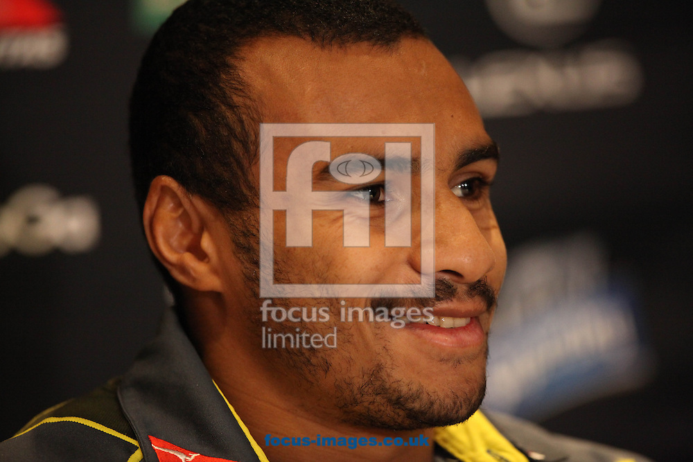 Picture by Mark Hawkins/Focus Images Ltd 07949 023795<br /> 28/11/2013<br /> Will Genia pictured during the Wallabies team naming at Hilton Hotel, Cardiff.