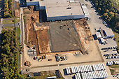 Frito Lay Plant Construction Aerial Photography September 2014