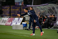 Nermin Bašić, head coach of Gorica during football match between NK Maribor and ND Gorica in 22nd Round of Prva liga Telekom Slovenije 2018/19, on March 09, 2019 in Ljudski Vrt, Maribor, Slovenia. Photo by Blaž Weindorfer / Sportida