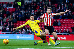 Liam Sercombe of Bristol Rovers challenges Adam Matthews of Sunderland - Mandatory by-line: Robbie Stephenson/JMP - 15/12/2018 - FOOTBALL - Stadium of Light - Sunderland, England - Sunderland v Bristol Rovers - Sky Bet League One