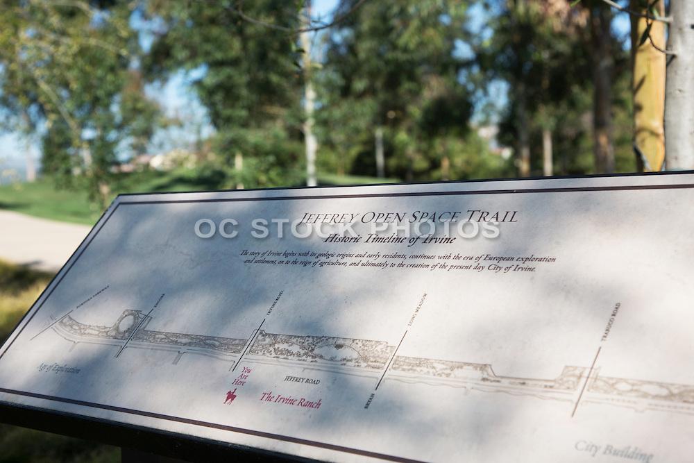 Jefferey Open Space Trail in Irvine California