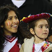 FOXBOROUGH, MASSACHUSETTS - JUNE 12:  Peru supporters during the Brazil Vs Peru Group B match of the Copa America Centenario USA 2016 Tournament at Gillette Stadium on June 12, 2016 in Foxborough, Massachusetts. (Photo by Tim Clayton/Corbis via Getty Images)