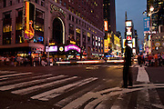 Hard Rock, Times Square and Theater distric,Manhattan,New York,U.S.A.