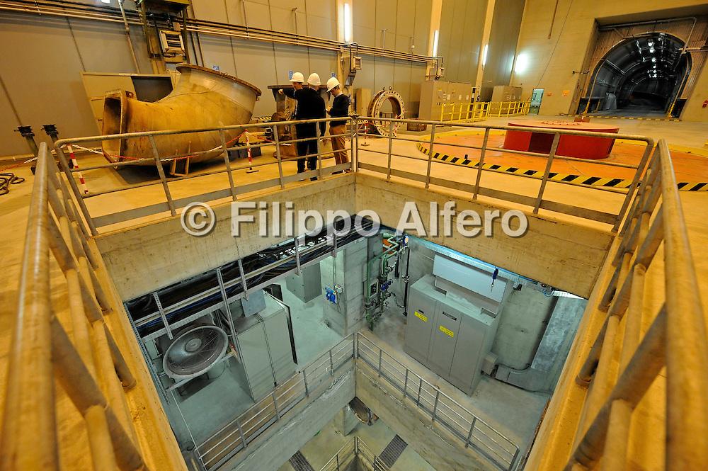&copy; Filippo Alfero<br /> Venaus (TO) , 25/07/2008<br /> economia<br /> Centrale Idroelettrica presso Venaus