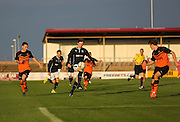 Craig Wighton runs at the Dundee United defence  - Dundee v Dundee United, SPFL Development League at Gayfield, Arbroath<br /> <br />  - &copy; David Young - www.davidyoungphoto.co.uk - email: davidyoungphoto@gmail.com