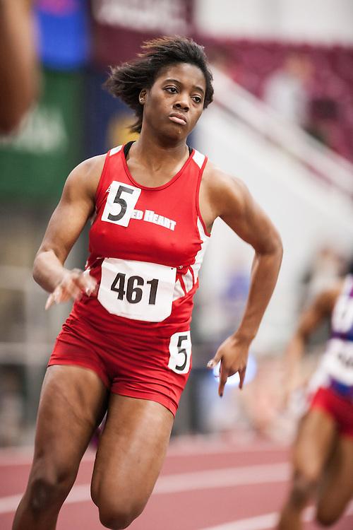 Boston University Multi-team indoor track & field, women 200 meter, Sacred Heart 461