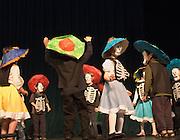 Children dance at Day of Dead celebration at Seattle Center