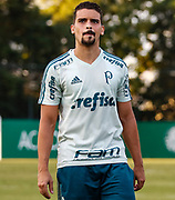 31.05.2018 - SÃO PAULO, SP - O jogador Jean do Palmeiras, durante treino na Academia de Futebol da Barra Funda, na Zona Oeste da capital paulista na tarde desta quinta-feira 31. ( Foto: Marcelo D. Sants / FramePhoto )