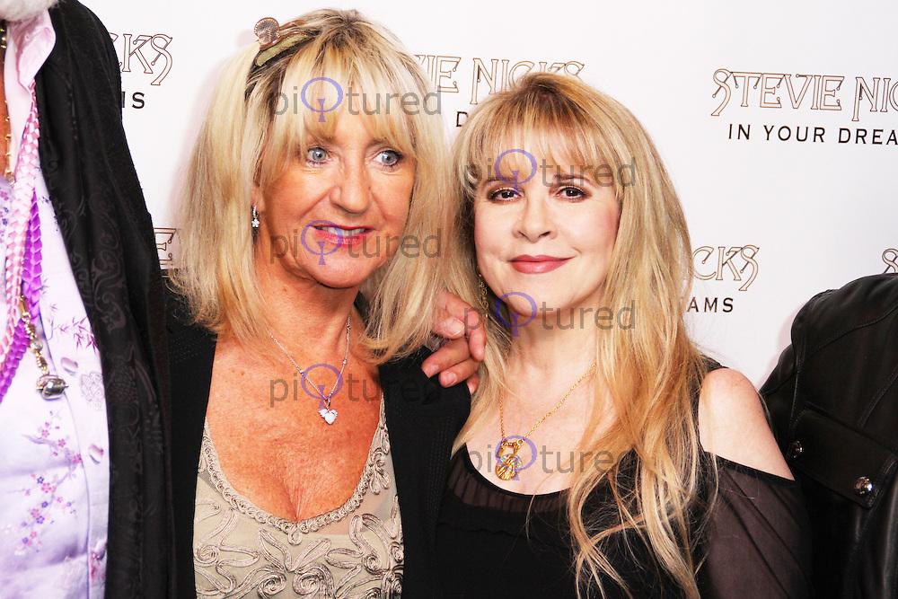 Stevie Nicks & Christine McVie, Stevie Nicks: In Your Dreams - Screening, Curzon Mayfair, London UK, 16 September 2013, (Photo by Brett D. Cove)