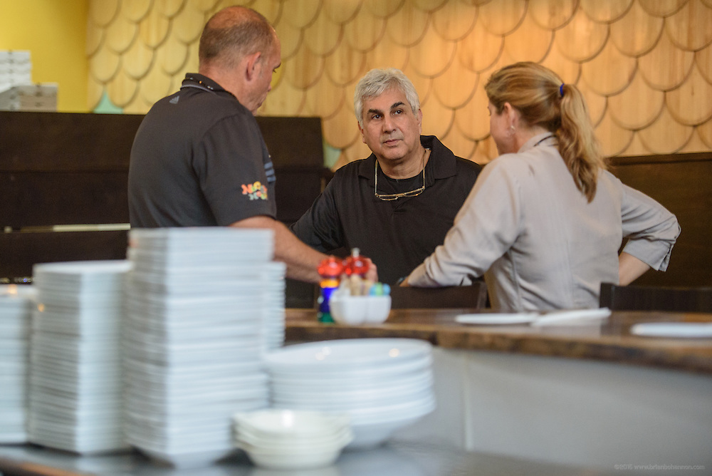 Photos at Anoosh Shariat's Anoosh Bistro and Noosh Nosh Monday, Aug. 15, 2016. (Photo by Brian Bohannon)