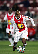 Nhlanhla Shabalala during the PSL match between Ajax Cape Town and Moroka Swallows held at Newlands Stadium in Cape Town, South Africa on 28 October 2009..Photo by Ron Gaunt/SPORTZPICS