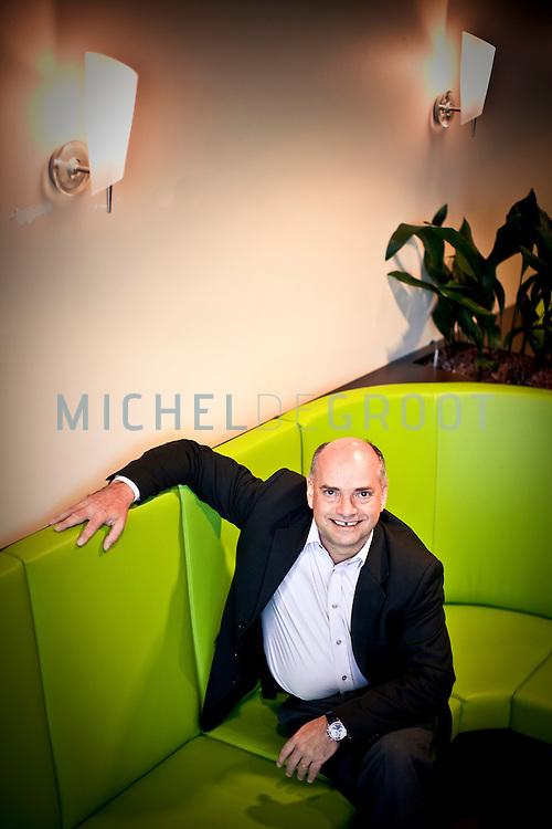 John Verbakel, Vice-President R&D Unilever in Vlaardingen, The Netherlands op 28 November, 2008.  (Photo by Michel de Groot)