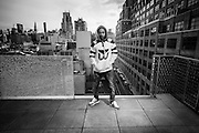 Kendrick Lamar photographed in Manhattan, NY on December 7, 2014. (Photo by Drew Gurian)