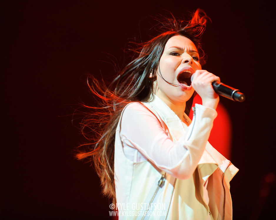 BETHESDA, MD - February 9th, 2011: Teen sensation Miranda Cosgrove performs at the Strathmore Music Hall on her first ever tour of the United States. (Photo by Kyle Gustafson/For The Washington Post)