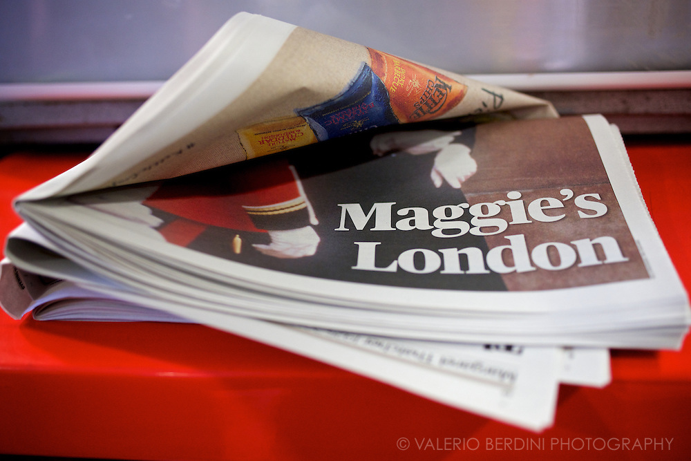 Maggie's London. Twelve pages special section celebrating Thatcher's relationship with the UK capital.