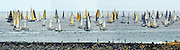 Newport Ensenada Race Panorama