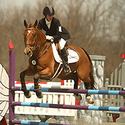Mara Dean (USA) and Nicki Henley at the Morven Park Spring Horse Trials held in Leesburg, Virginia