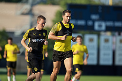 SOUTH BEND, INDIANA, USA - Thursday, July 18, 2019: Borussia Dortmund's Mats Hummels during a training session ahead of the friendly match against Liverpool at the Notre Dame Stadium on day three of the club's pre-season tour of America. (Pic by David Rawcliffe/Propaganda)