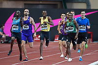 Amel Tuka of Bosnia (2nd Left) competes and wins in 800m Men during the International Athletics Meeting Herculis, IAAF Diamond League, Monaco on July 17, 2015 at Louis II  stadium in Monaco, France - Photo Jean-Marie Hervio / KMSP / DPPI