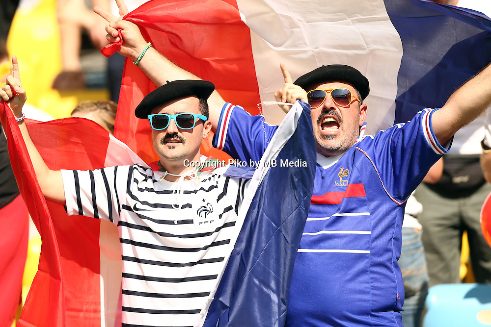 Fifa Soccer World Cup - Brazil 2014 - <br /> FRANCE (FRA) Vs. GERMANY (GER) - Quarter-finals - Estadio do MaracanaRio De Janeiro -- Brazil (BRA) - 04 July 2014 <br /> Here French fans.<br /> &copy; PikoPress