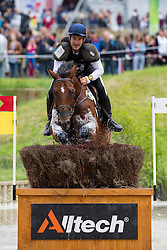 Carlos Diaz Fernandez, (ESP), Junco CP - Eventing Cross Country test - Alltech FEI World Equestrian Games™ 2014 - Normandy, France.<br /> © Hippo Foto Team - Leanjo de Koster<br /> 30/08/14