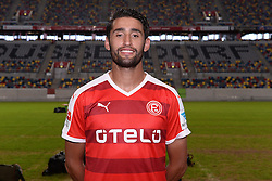 02.07.2015, Esprit Arena, Duesseldorf, GER, 2. FBL, Fortuna Duesseldorf, Fototermin, im Bild Karim Haggui ( Fortuna Duesseldorf / Portrait ) // during the official Team and Portrait Photoshoot of German 2nd Bundesliga Club Fortuna Duesseldorf at the Esprit Arena in Duesseldorf, Germany on 2015/07/02. EXPA Pictures © 2015, PhotoCredit: EXPA/ Eibner-Pressefoto/ Thienel<br /> <br /> *****ATTENTION - OUT of GER*****