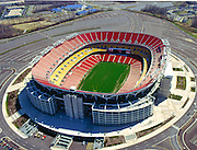 Aerial Image of Fed Ex Field, Home of the Washington Redskins. July 15, 200 in Landover, Maryland. ([Julia Robertson]