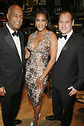 l to r: Noel Hankin, Vivica A. Fox and Andrew Glaser at The 2009 NV Awards: A Salute to Urban Professionals sponsored by Hennessey held at The New York Stock Exchange on February 27, 2009 in New York City. ....