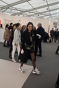 TARA RAZA,  Frieze opening day. Regent's Park. London. 2 October 2019