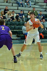 27 December 2017: State Farm Holiday Classic Coed Basketball Tournament at Shirk Center, Bloomington Illinois<br /> <br /> SFHC - Small Boys Winnebago Indians v Peoria Christian Chargers