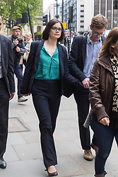 Dr Saira Khan leaves the Old Bailey In London as the London Bridge terror attack inquest continues. London, May 17 2019.